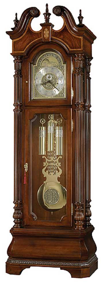 Clocks Eisenhower Grandfather Clock by Howard Miller at Alison Craig Home Furnishings