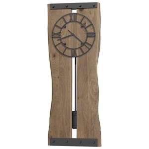Zeno Live Edge Wall Clock