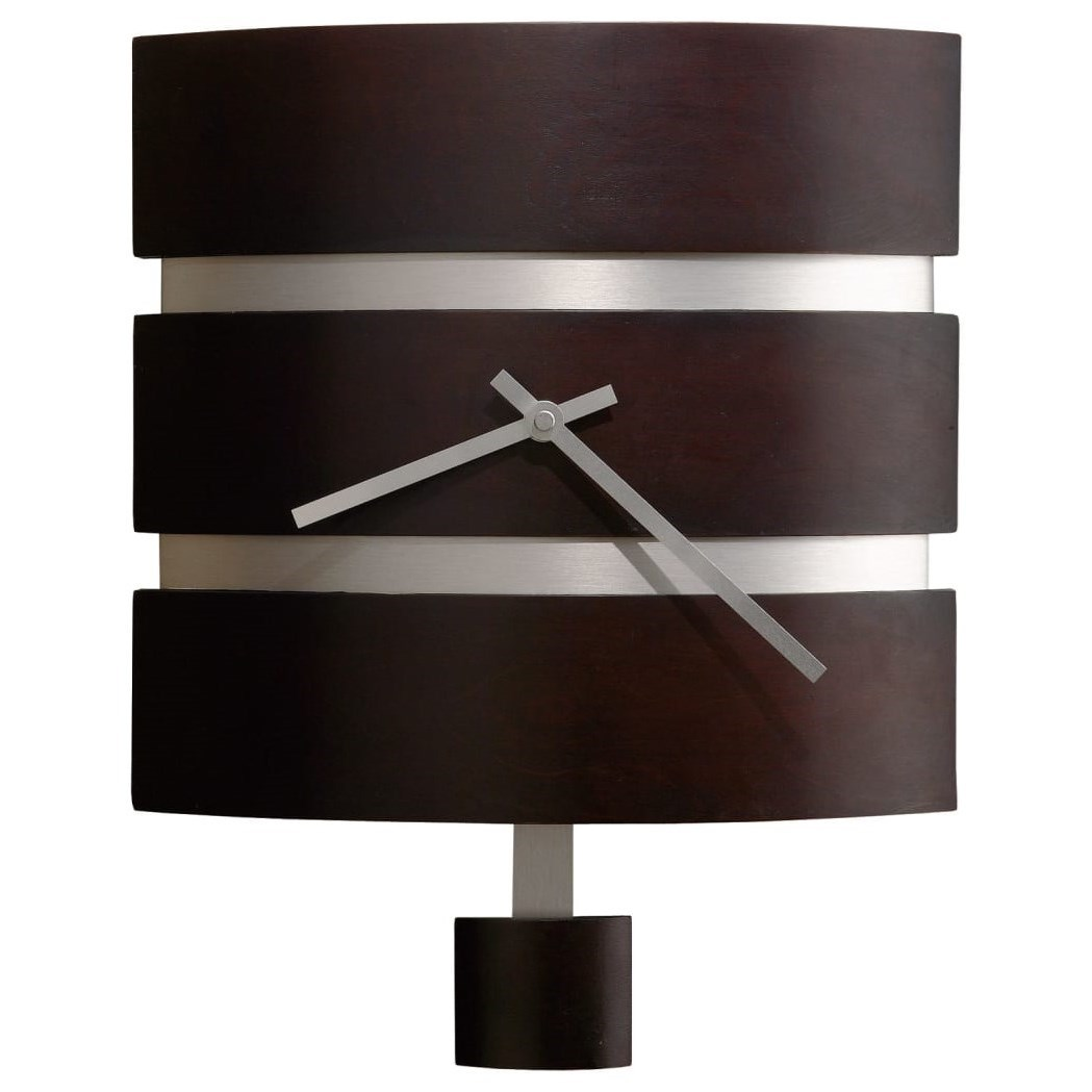 Wall Clocks Morrison Wall Clock by Howard Miller at Prime Brothers Furniture