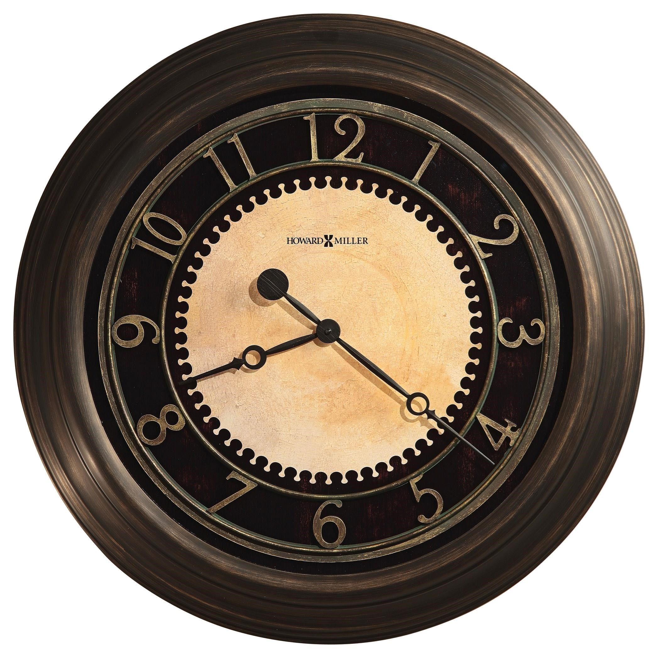 Wall Clocks Chadwick Wall Clock by Howard Miller at Mueller Furniture