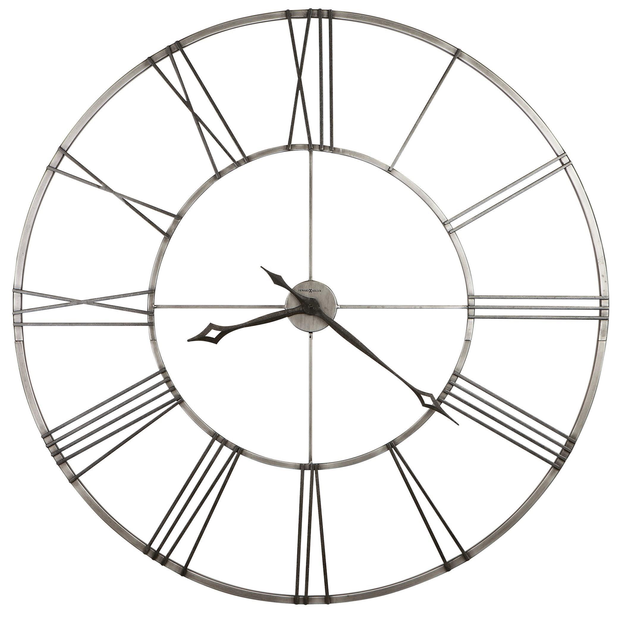 Wall Clocks Stockton Wall Clock by Howard Miller at Prime Brothers Furniture