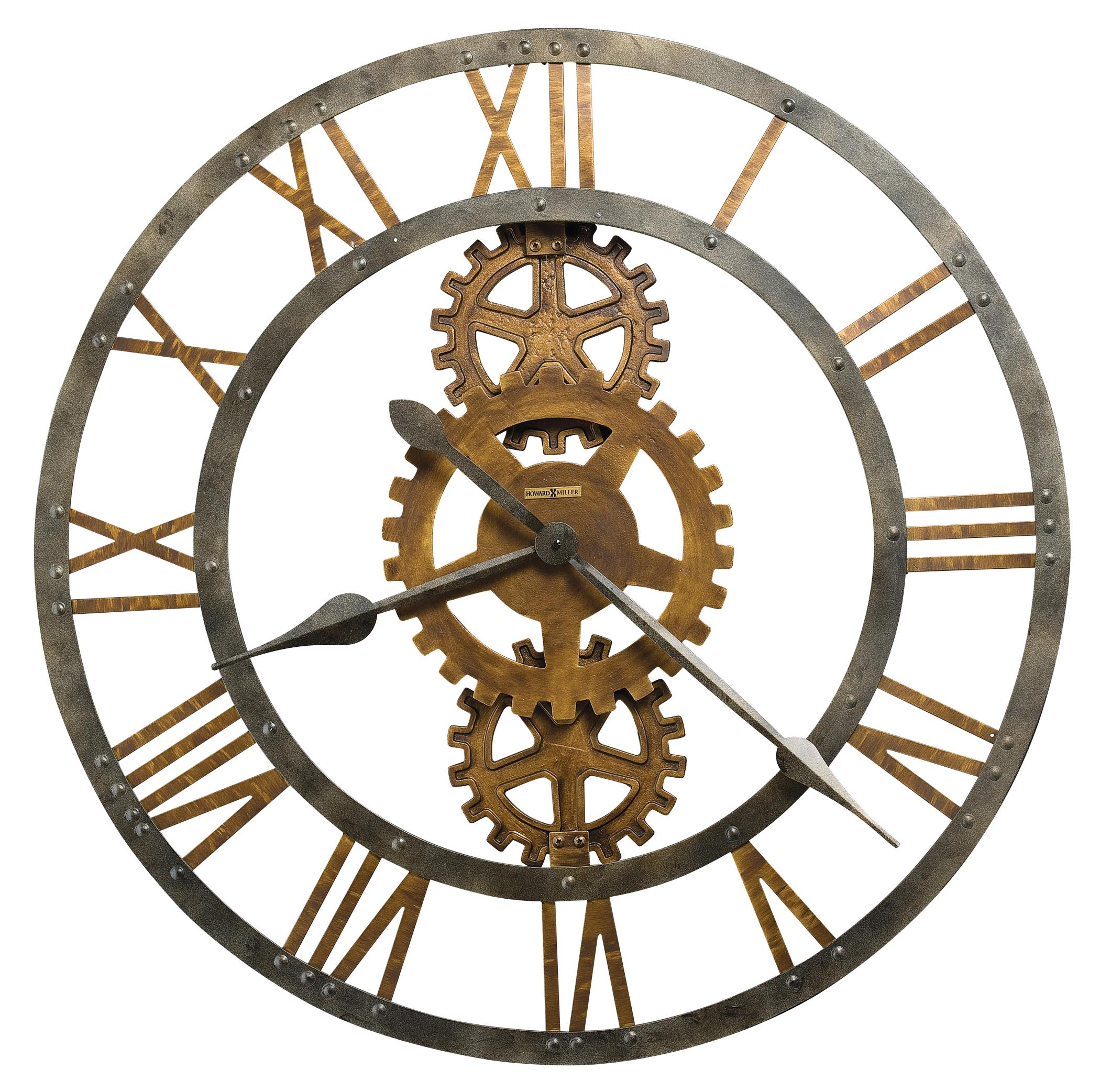 Wall Clocks Crosby Wall Clock by Howard Miller at Mueller Furniture