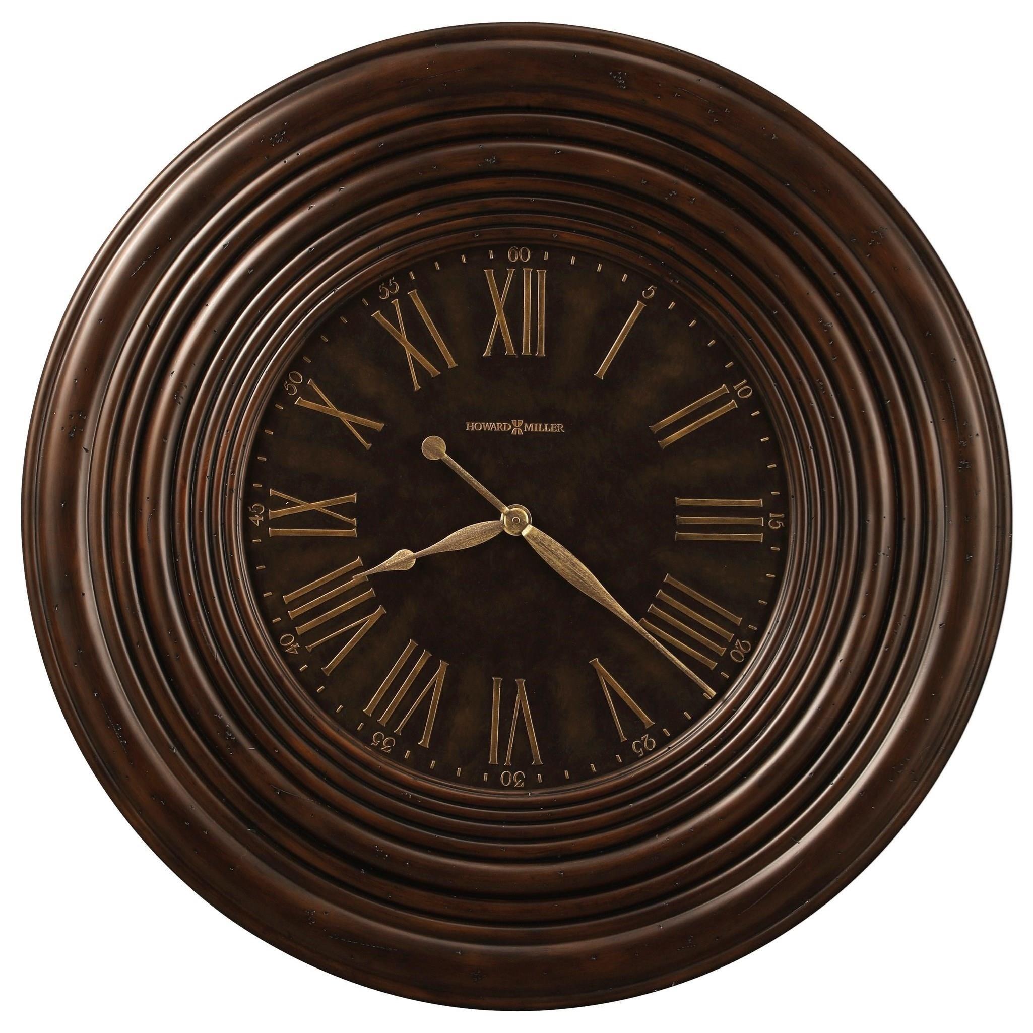 Wall Clocks Harrisburg Wall Clock by Howard Miller at Stuckey Furniture