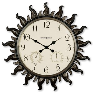 Sunburst II Wall Clock