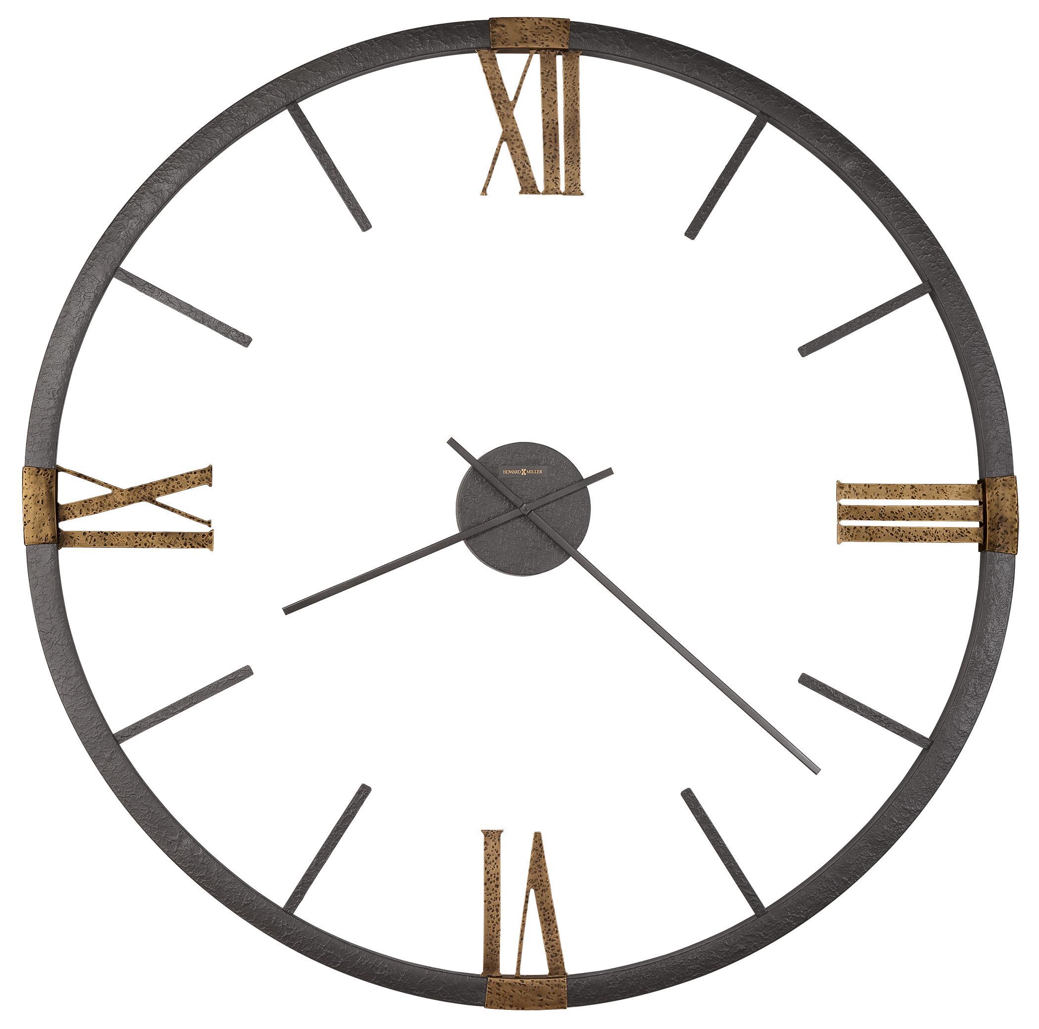 Wall Clocks Prospect Park Clock by Howard Miller at Mueller Furniture