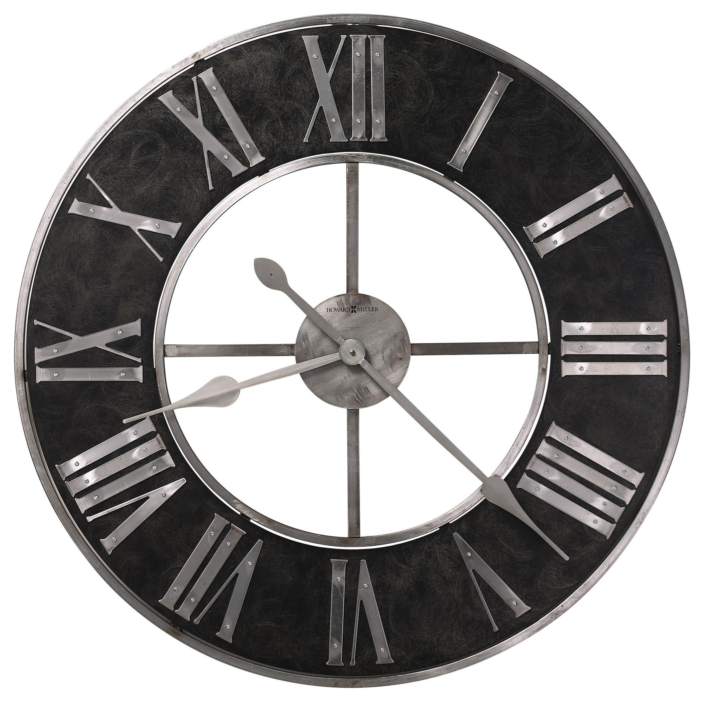 Wall Clocks Dearborn Wall Clock by Howard Miller at Baer's Furniture
