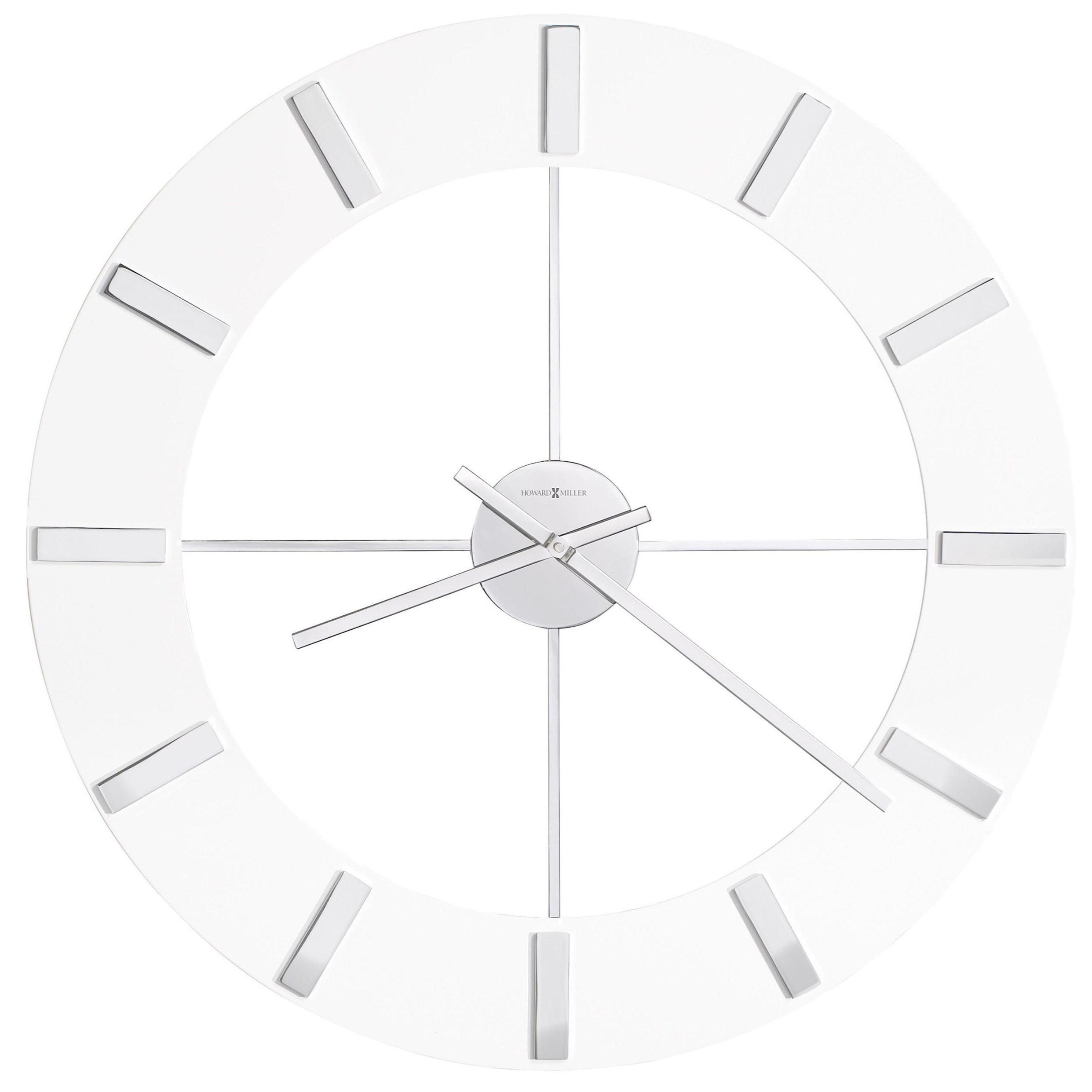 Wall Clocks Pearl Wall Clock by Howard Miller at Esprit Decor Home Furnishings