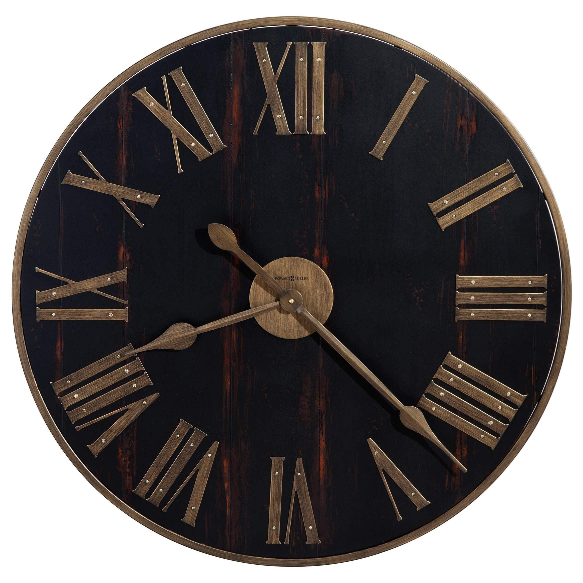 Wall Clocks Murray Grove Wall Clock by Howard Miller at VanDrie Home Furnishings