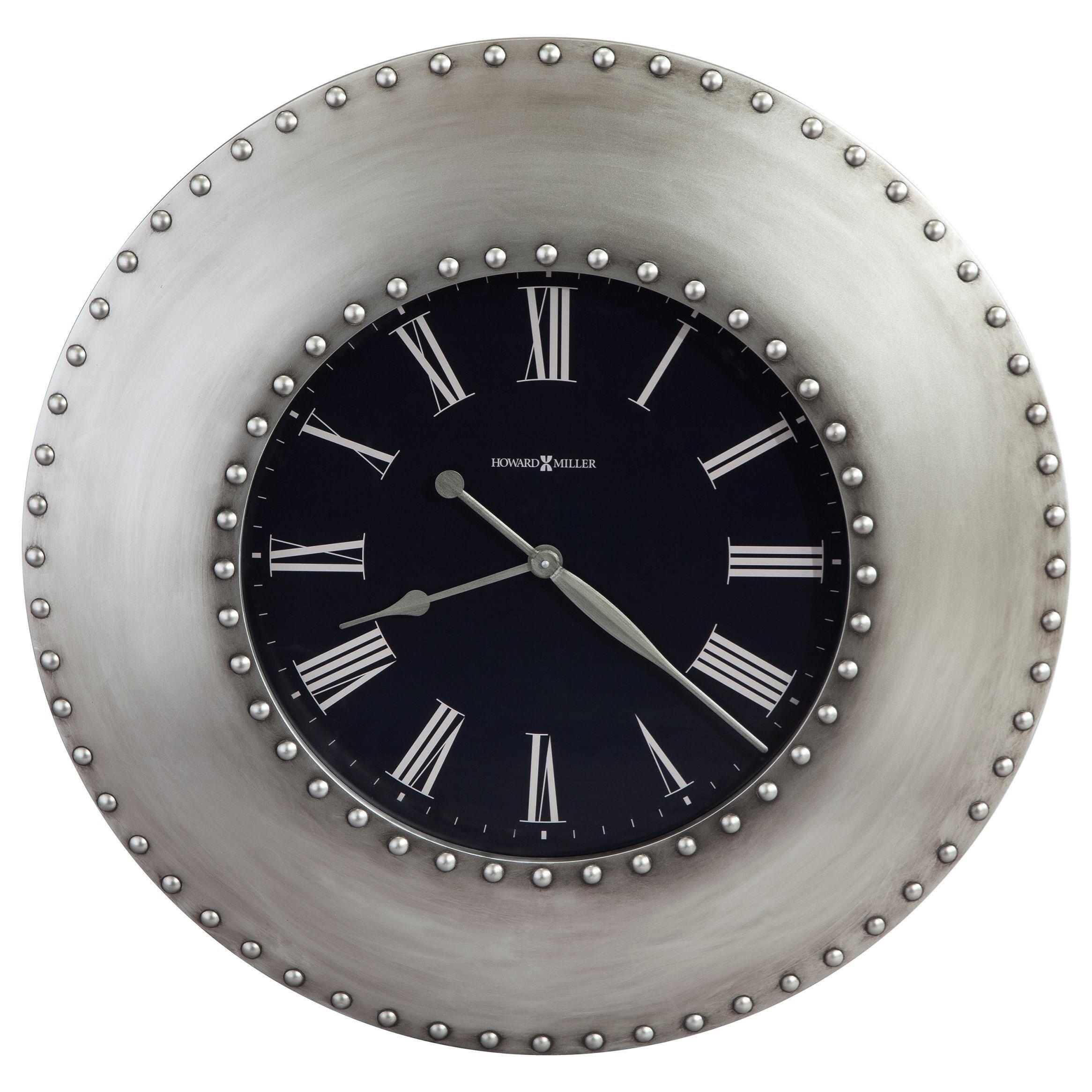 Wall Clocks Bokoro Wall Clock by Howard Miller at VanDrie Home Furnishings