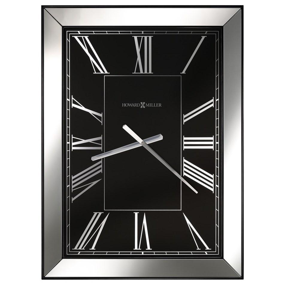Wall Clocks Ceara Wall Clock by Howard Miller at VanDrie Home Furnishings