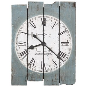 Mack Road Wall Clock