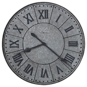 Manzine Metal Wall Clock