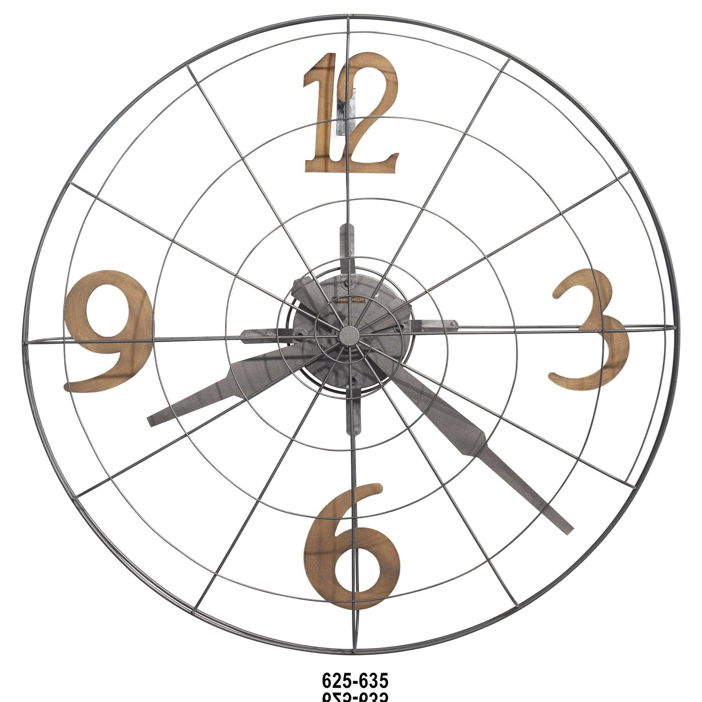 Wall Clocks Phan Wall Clock by Howard Miller at Mueller Furniture