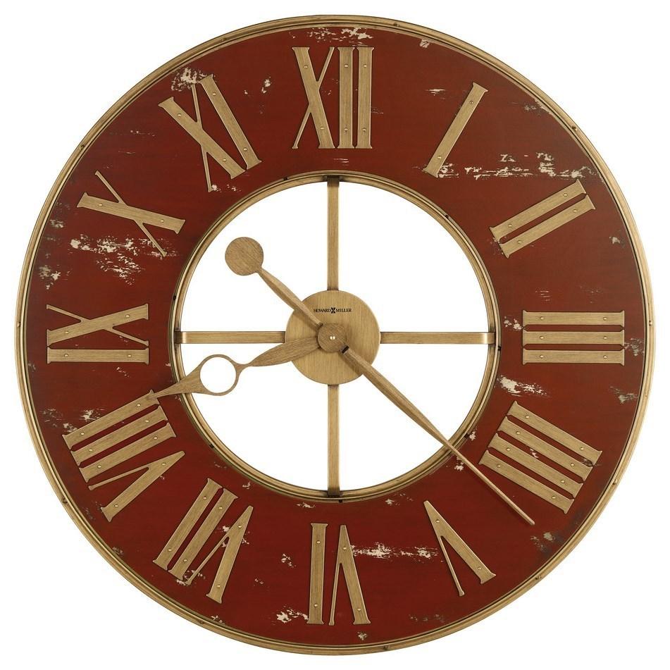 Wall Clocks Boris Wall Clock by Howard Miller at Corner Furniture