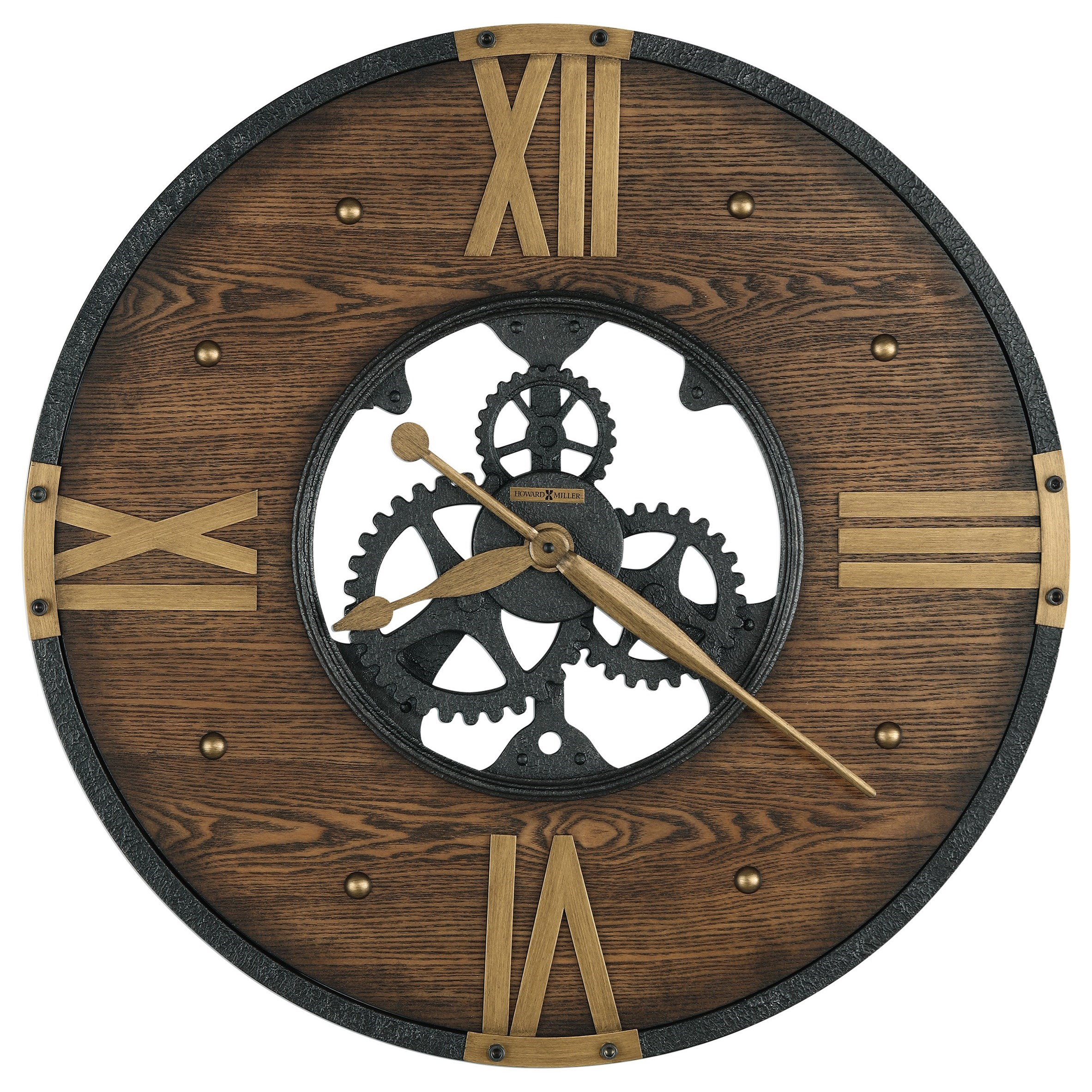 Wall Clocks Murano Wall Clock by Howard Miller at Stuckey Furniture