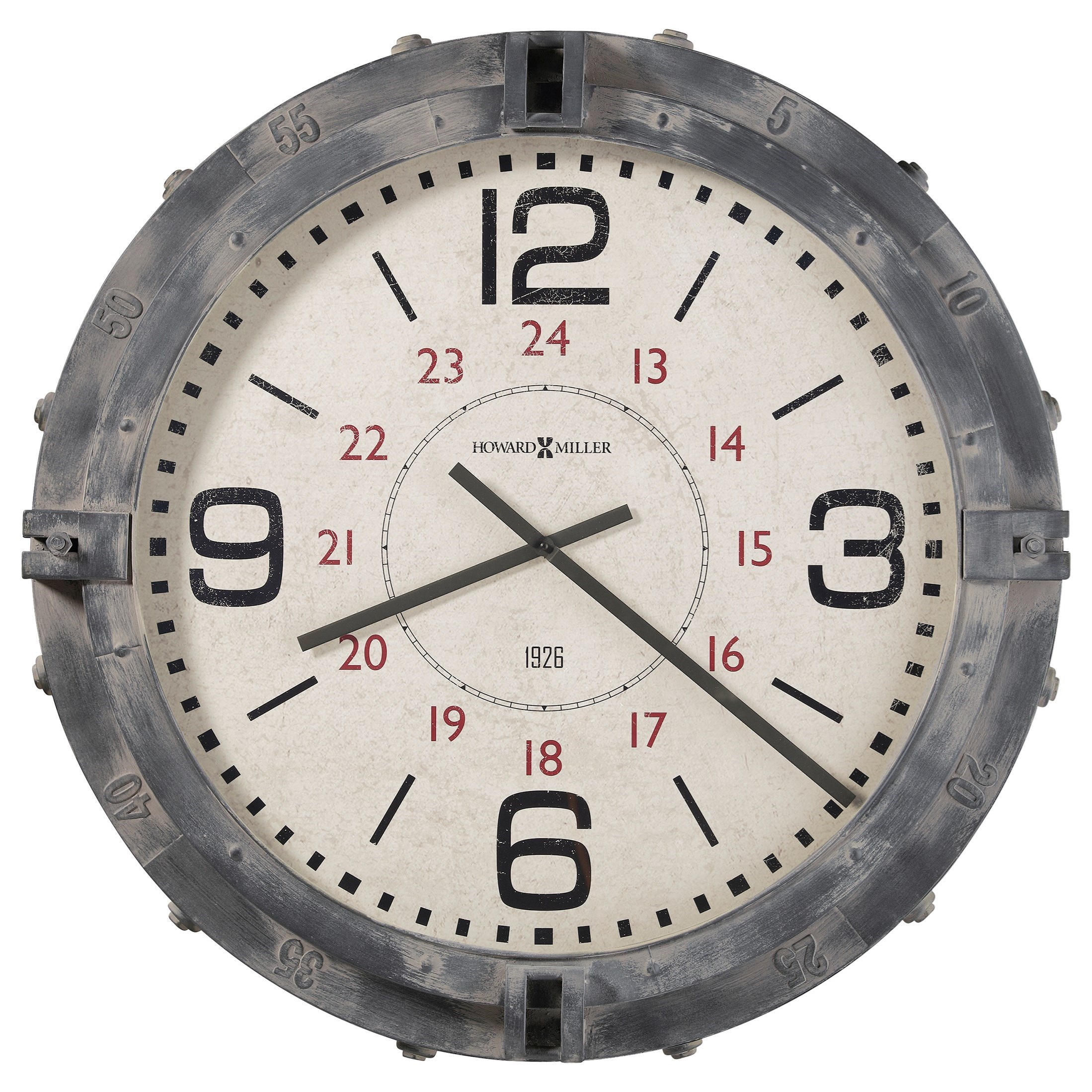 Wall Clocks Seven Seas Wall Clock by Howard Miller at Prime Brothers Furniture