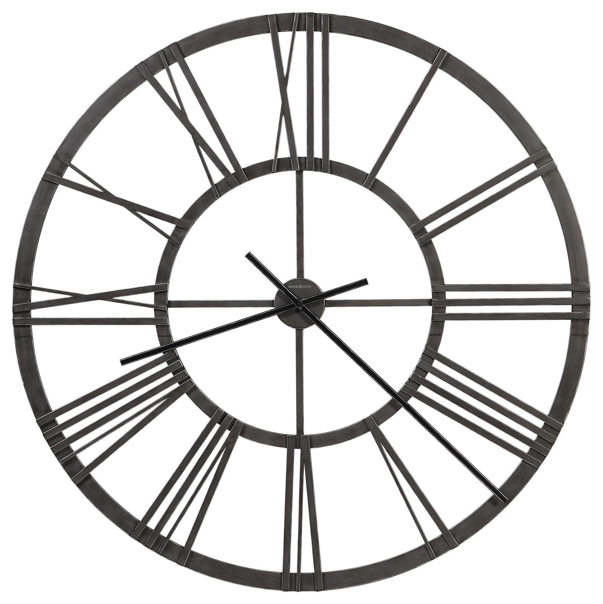 Wall Clocks Gemma Wall Clock by Howard Miller at HomeWorld Furniture