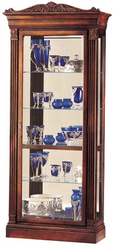 Cabinets Embassy Collectors Cabinet by Howard Miller at Corner Furniture