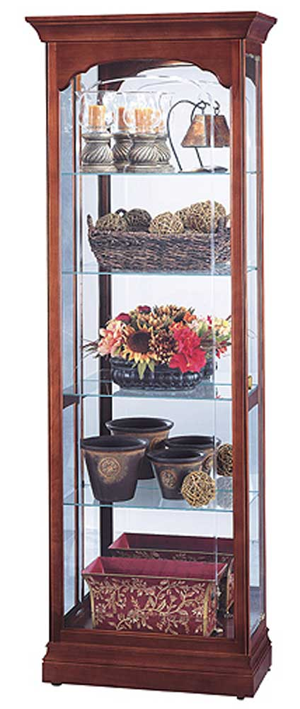 Cabinets Portland Collectors Cabinet by Howard Miller at Wayside Furniture