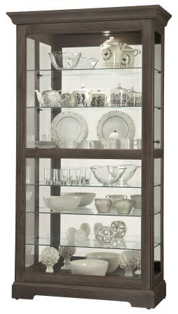Gable - Gable Display Cabinet by Howard Miller at Morris Home
