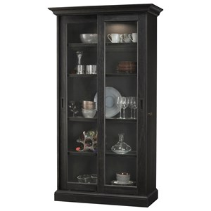Meisha IV Display Cabinet with Touch Lighting