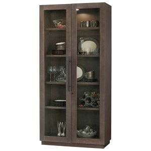Morrissey Cabinet with Interior Lighting