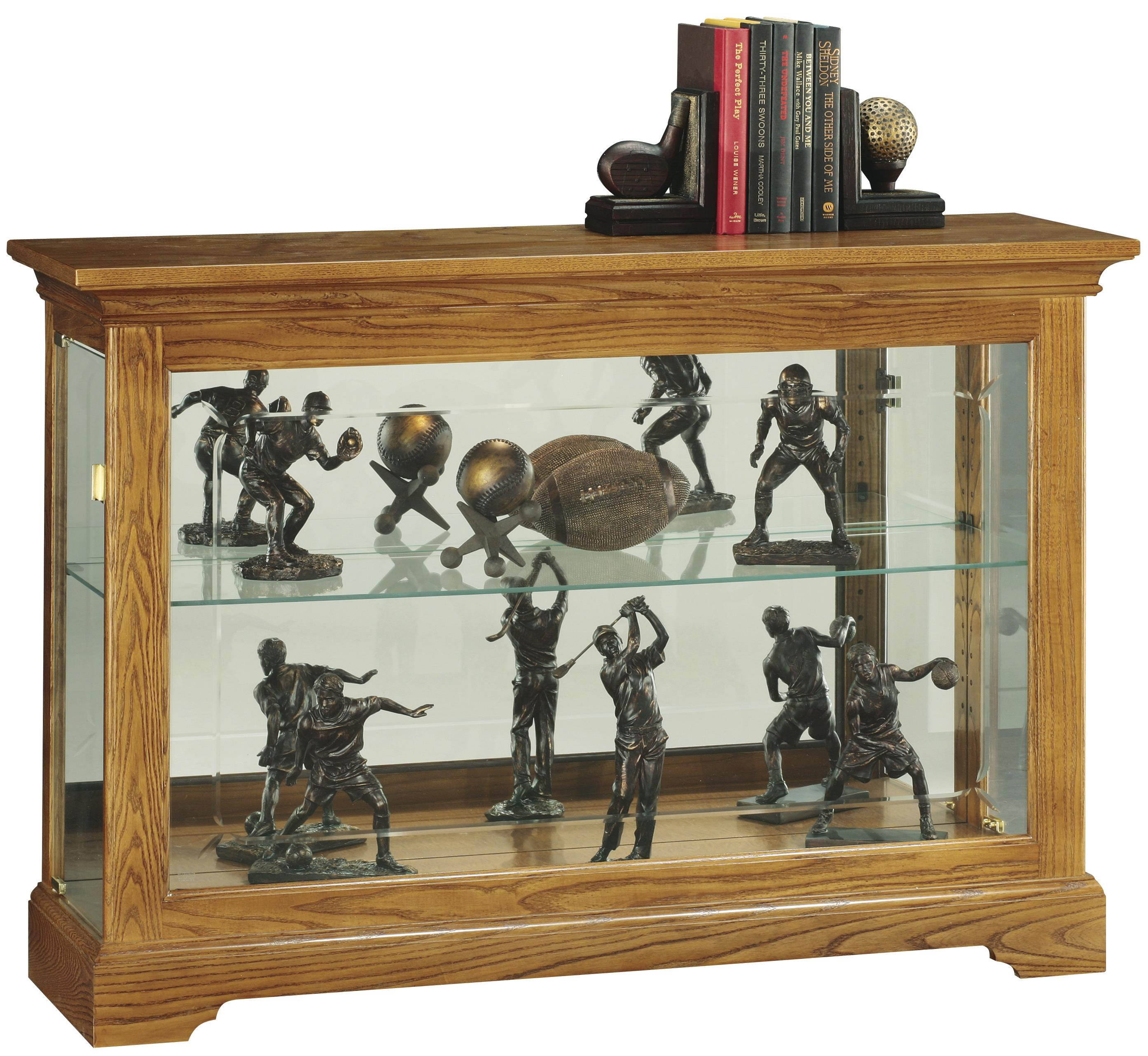 Cabinets Curio Cabinet by Howard Miller at Mueller Furniture