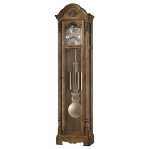 Calhoun Grandfather Clock with Arched Bonnet Pediment
