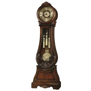 Diana Grandfather Clock with Decorative Overlays