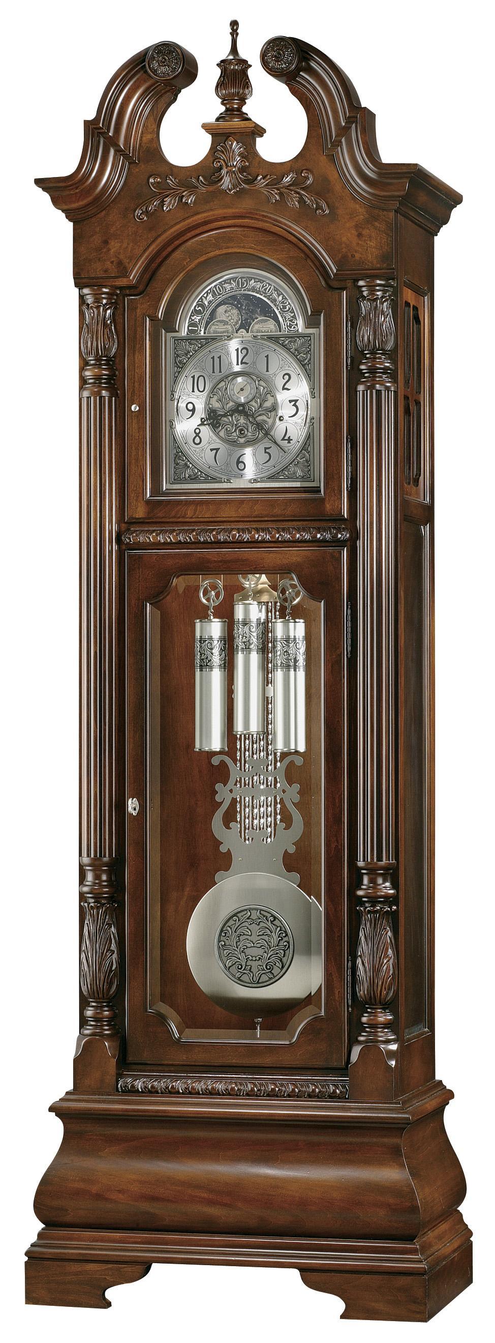 Clocks Stratford Grandfather Clock by Howard Miller at Alison Craig Home Furnishings