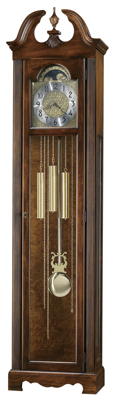 Clocks Princeton Grandfather Clock by Howard Miller at Alison Craig Home Furnishings