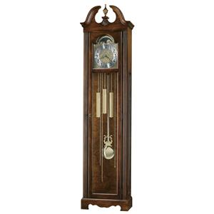 Princeton Grandfather Clock with Polished Brass Dial