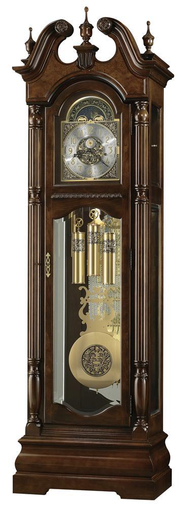 Clocks Edinburg Grandfather Clock by Howard Miller at Alison Craig Home Furnishings