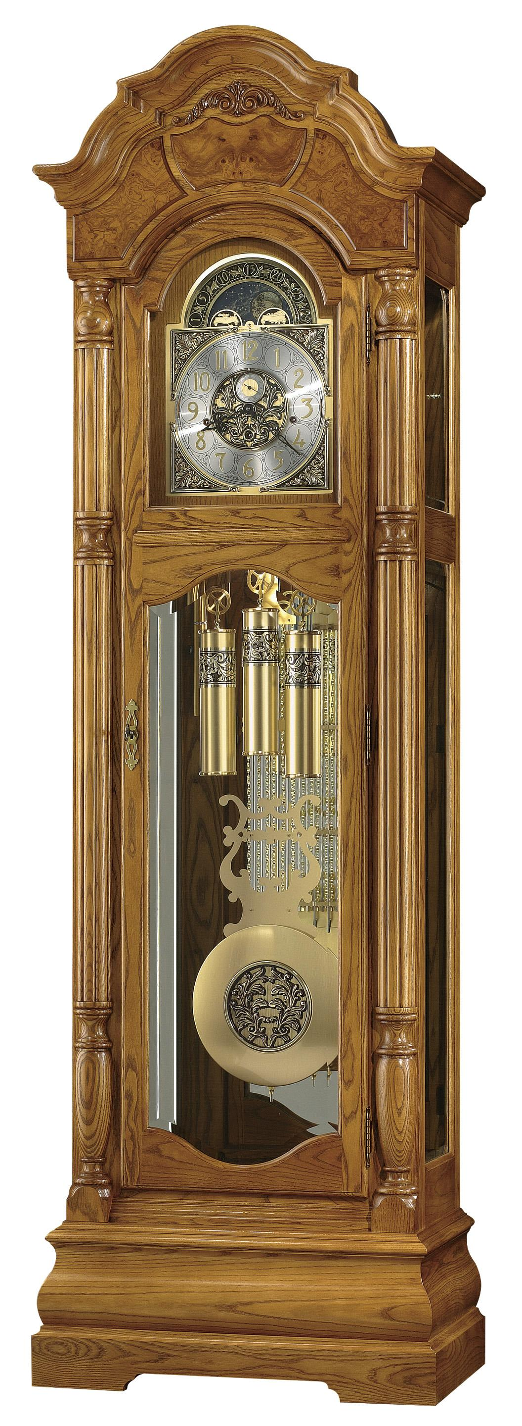 Clocks Scarborough Grandfather Clock by Howard Miller at Alison Craig Home Furnishings