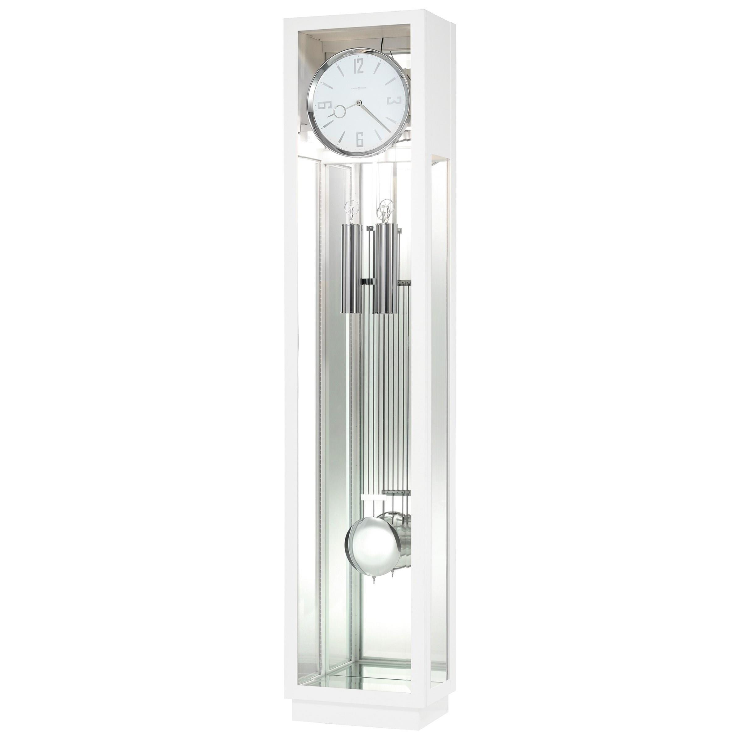 Clocks Floor Clock by Howard Miller at Alison Craig Home Furnishings