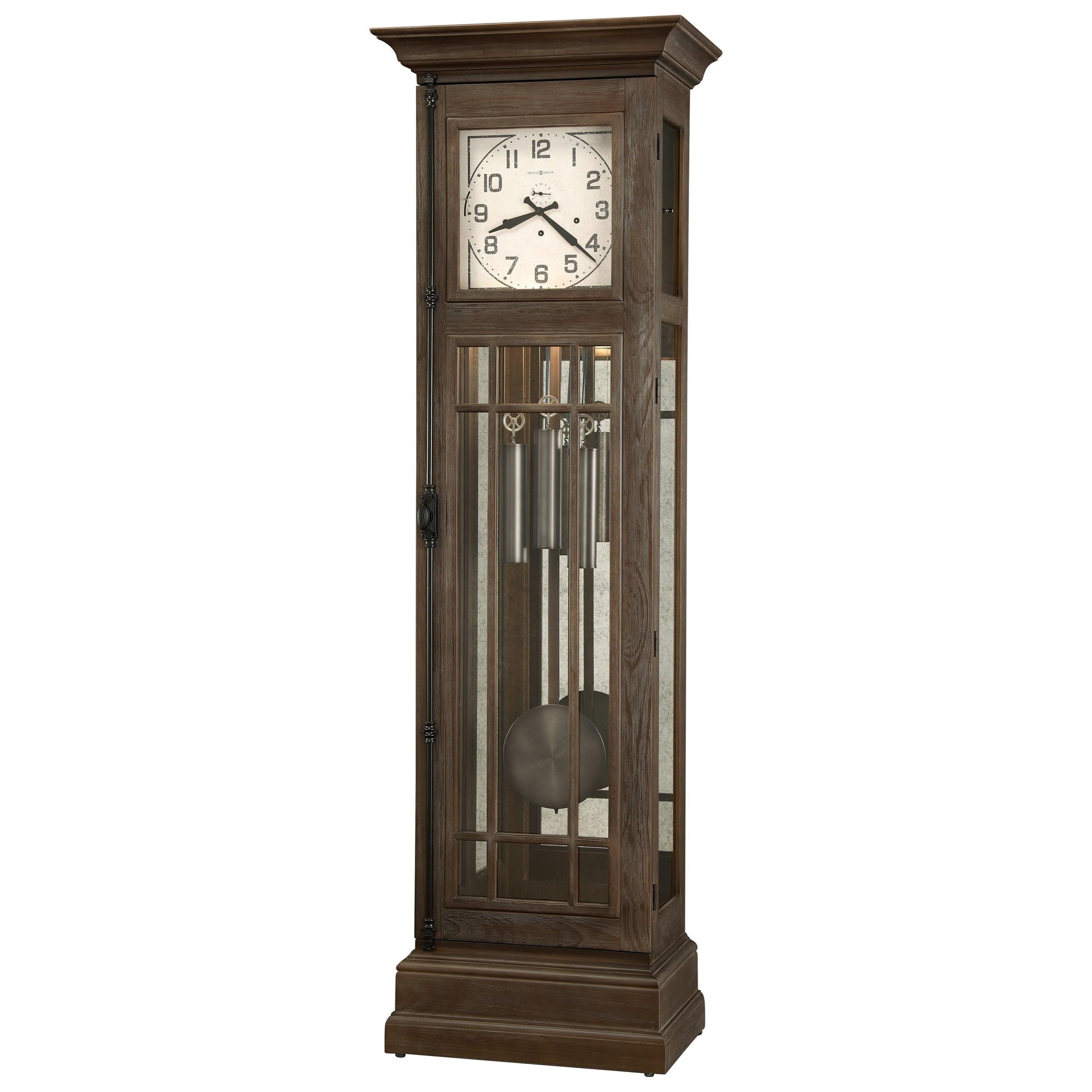 Clocks Davidson Floor Clock by Howard Miller at Alison Craig Home Furnishings