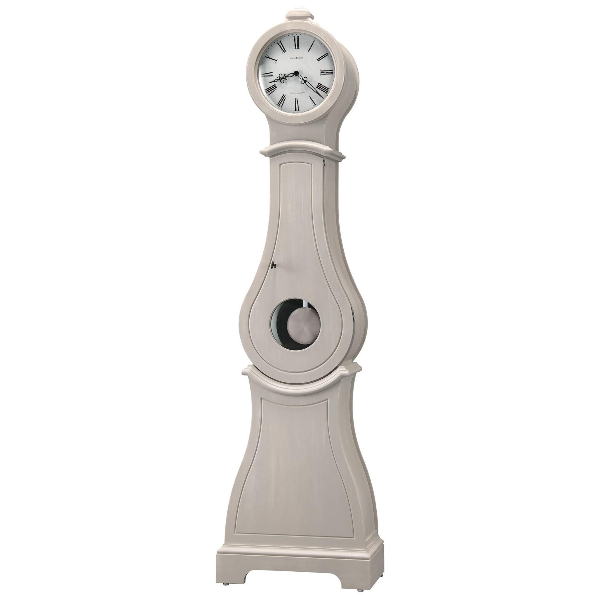Clocks Torrence Floor Clock by Howard Miller at Mueller Furniture