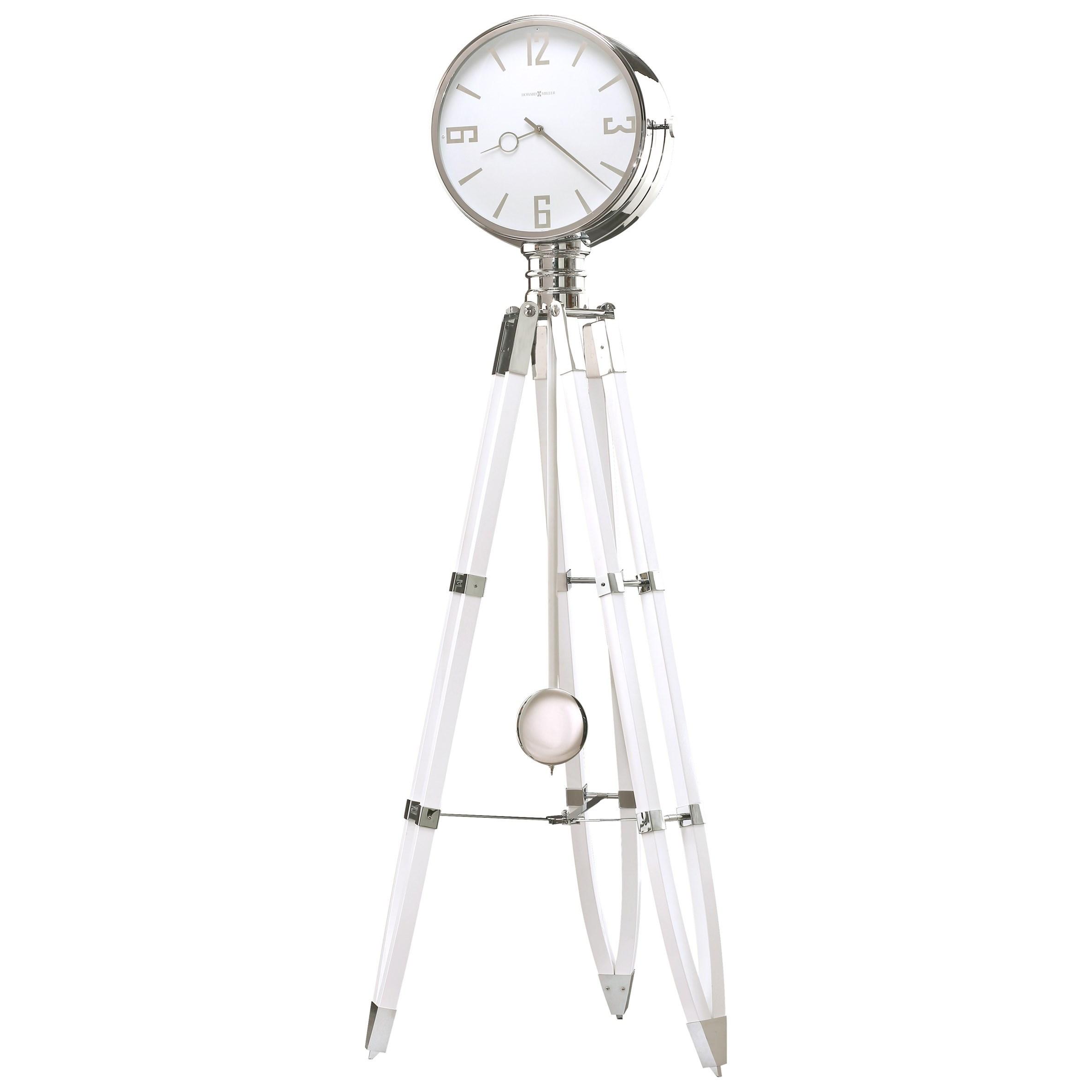 Clocks Chaplin III Floor Clock by Howard Miller at Alison Craig Home Furnishings