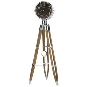Chaplin II Tripod Floor Clock