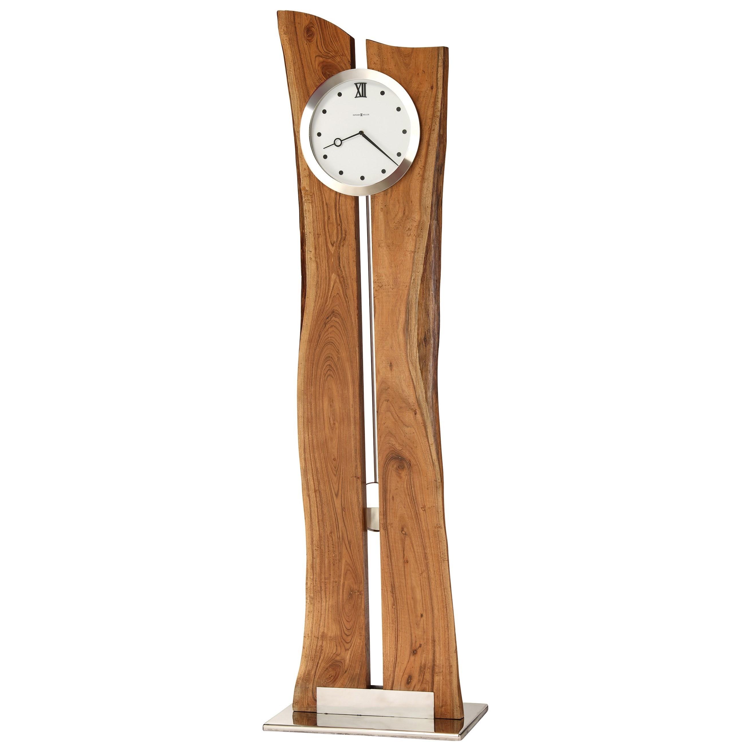 Clocks Otto Floor Clock by Howard Miller at HomeWorld Furniture