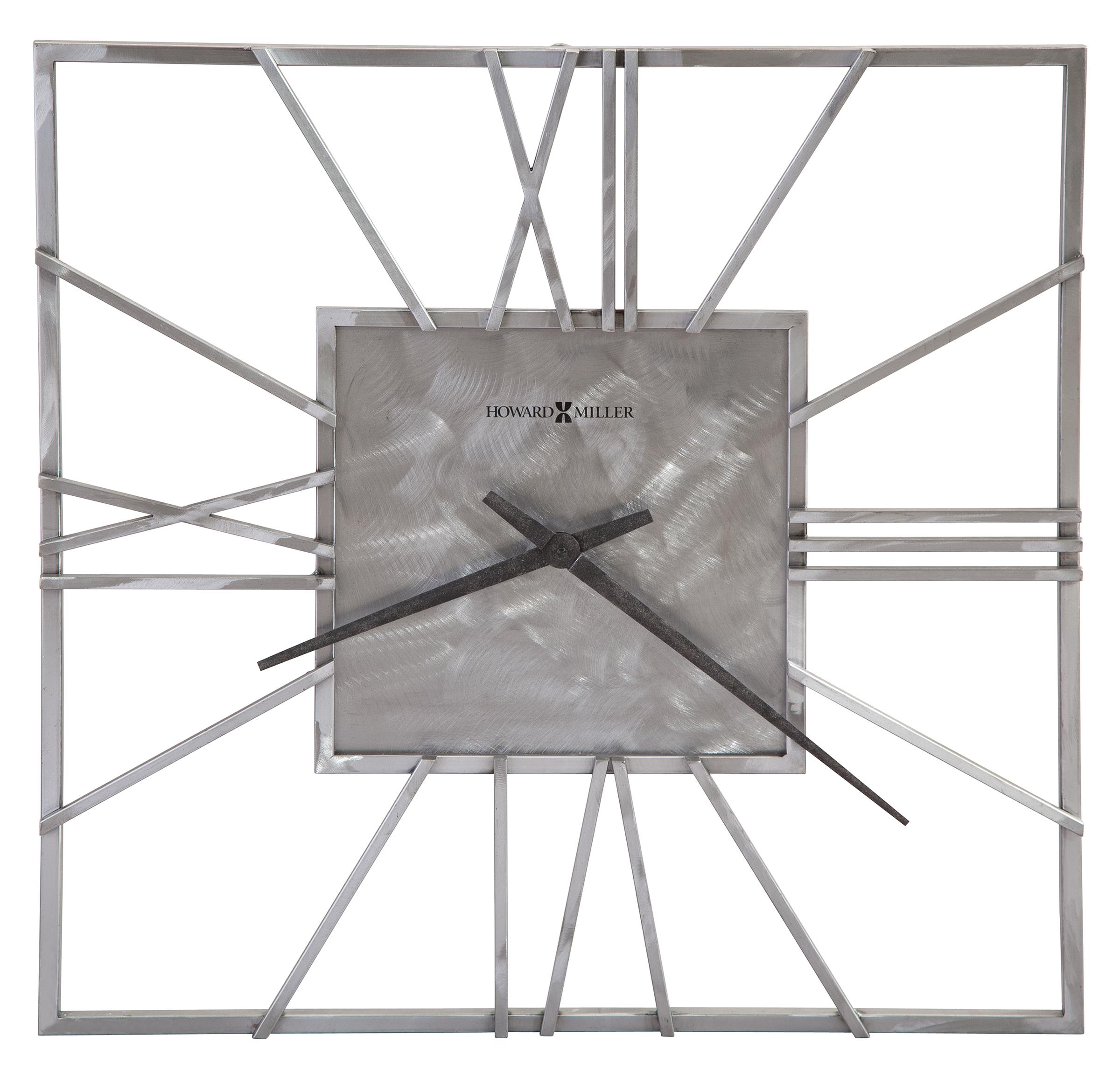 Clocks Lorain Wall Clock by Howard Miller at Alison Craig Home Furnishings