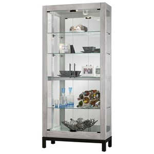 Quinn Curio Cabinet with Built-in Light