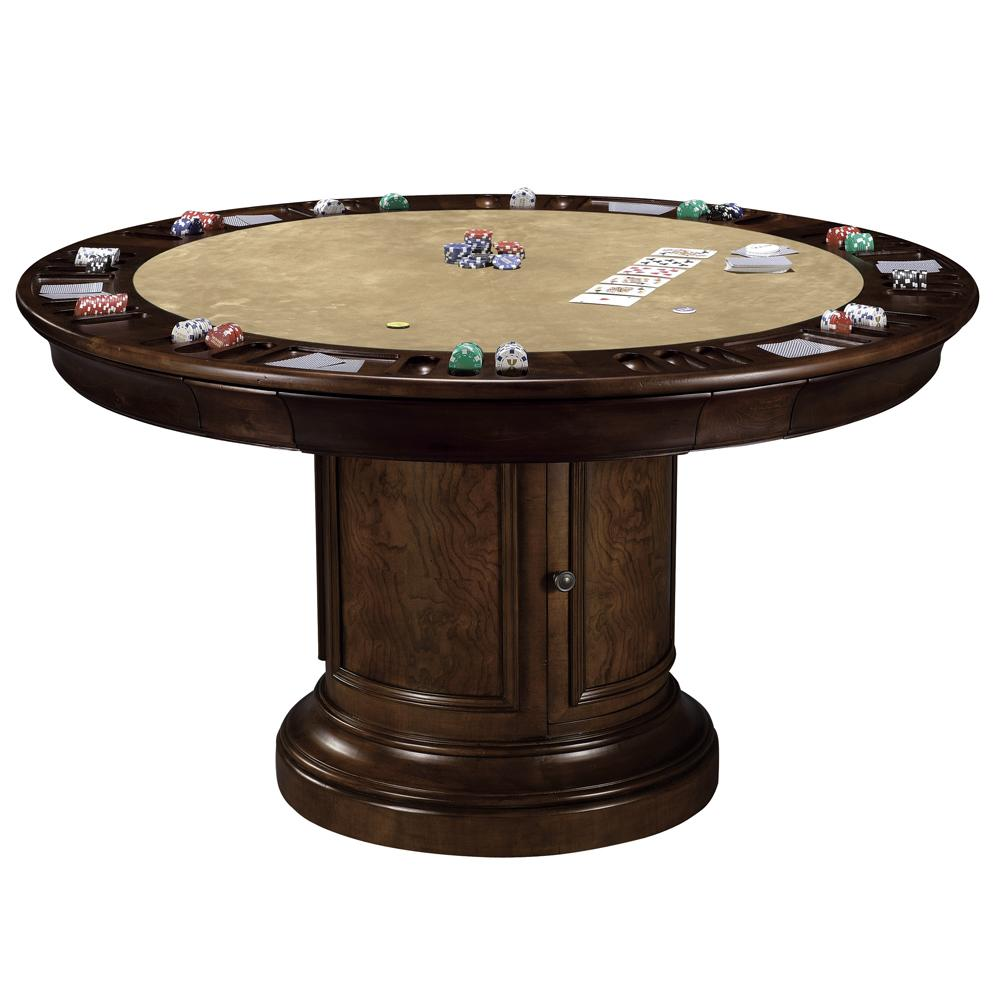 Ithaca Game Table by Howard Miller at Mueller Furniture