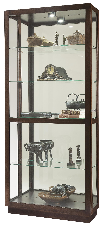 Jayden III Curio by Howard Miller at HomeWorld Furniture