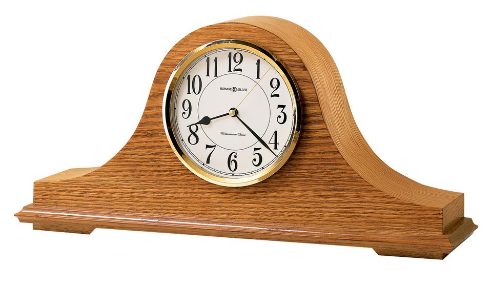 Table & Mantel Clocks Nicholas Mantel Clock by Howard Miller at Mueller Furniture