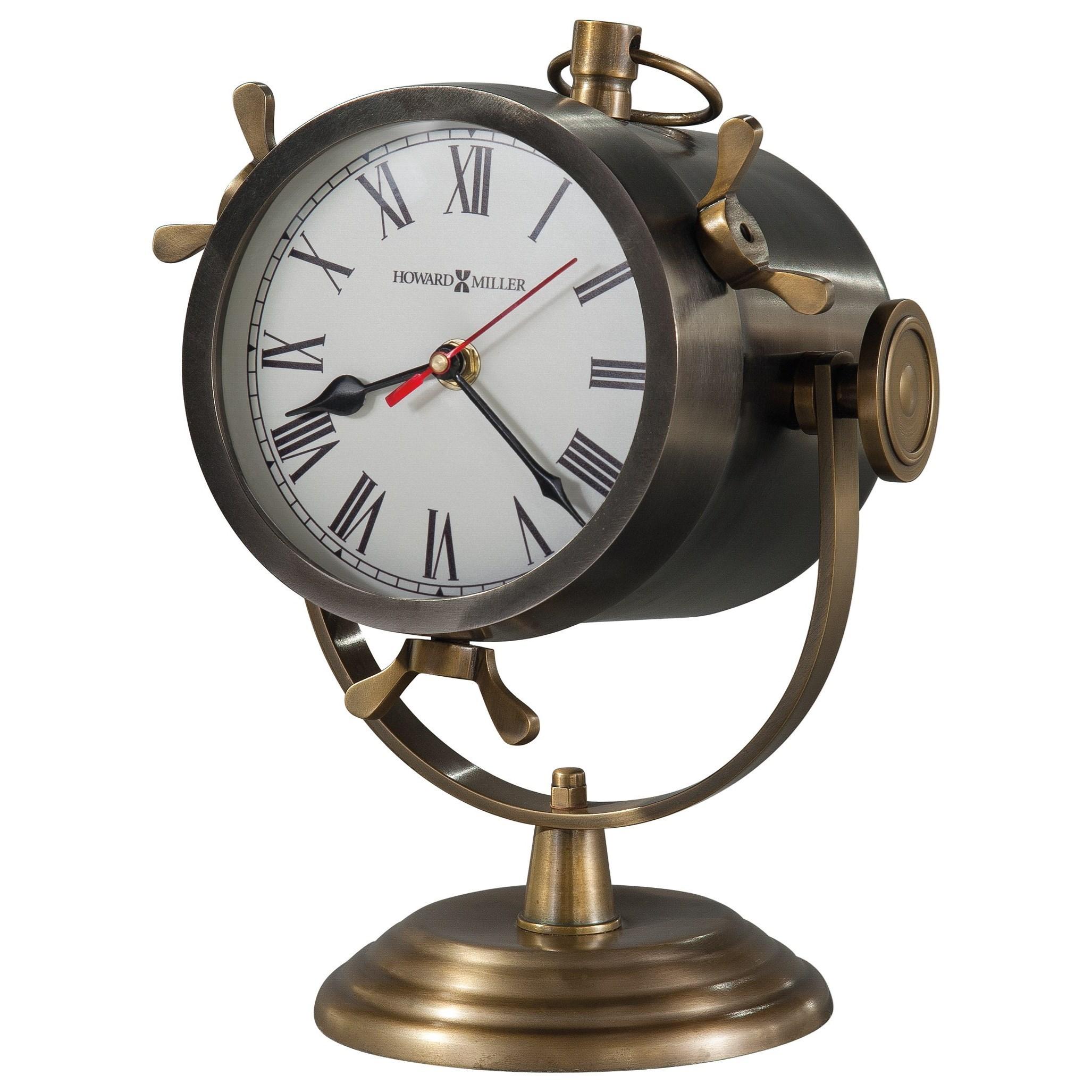 Table & Mantel Clocks Vernazza Spotlight Mantel Clock by Howard Miller at Mueller Furniture