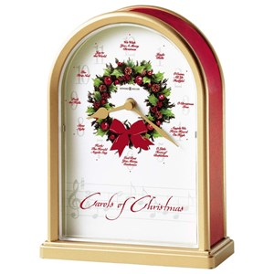 Carols of Christmas Mantel Clock
