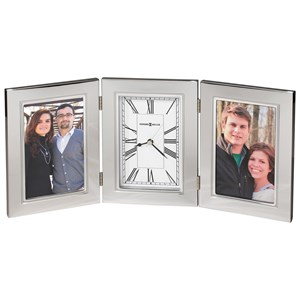 Trio Contmeporary Table Clock and Picture Frame
