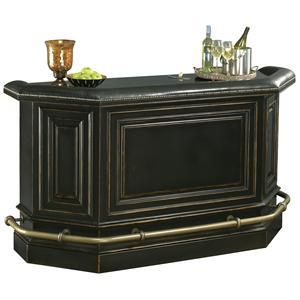 Burnished Black Bar Cabinet