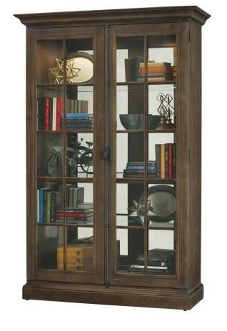 """Titusville Titusville 52"""" Curio Cabinet by Howard Miller at Morris Home"""